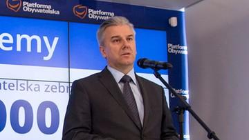 Były minister w rządzie PO Cezary Grabarczyk stanie przed sądem