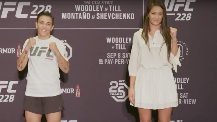 UFC 228: Kowalkiewicz skradła serca fanów podczas spotkania z rywalką! (WIDEO)