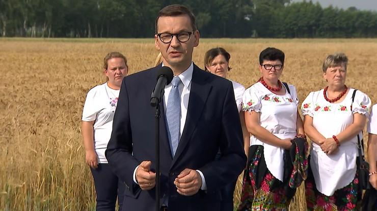 """Mateusz Morawiecki o """"Polskim Ładzie"""" dla rolników: tworzymy coraz bardziej cywilizowane warunki"""