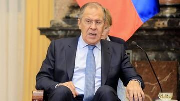 Ławrow: odpowiemy na wydalenie dyplomatów; nie można tolerować chamstwa