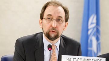 Komisarz ONZ ds. praw człowieka potępia zatrzymywanie migrantów w Europie
