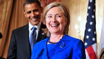 Obama poparł Clinton w wyścigu do Białego Domu