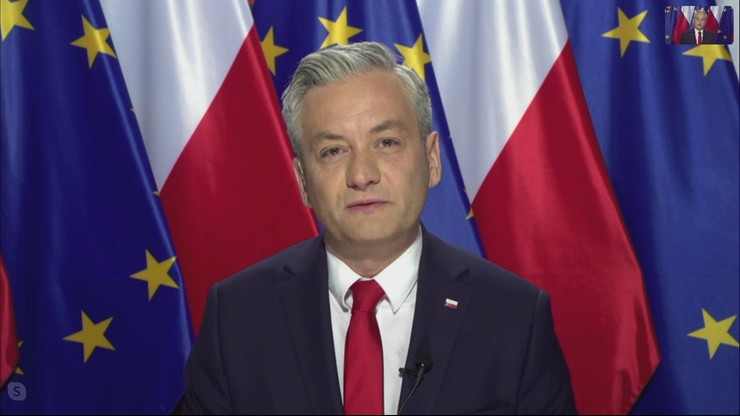 Biedroń: widziałem reakcję prezydenta na porozumienie Kaczyńskiego i Gowina. Upokorzenie