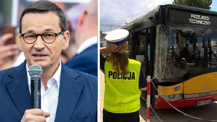 Premier pyta o kontrole kierowców. Ratusz przypomina swój apel do rządu w tej sprawie