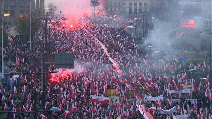 Marsz Niepodległości. Zażalenie na postanowienie sądu ws. zakazu organizacji