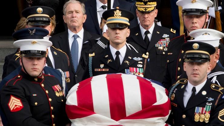Nabożeństwo żałobne George'a Busha seniora