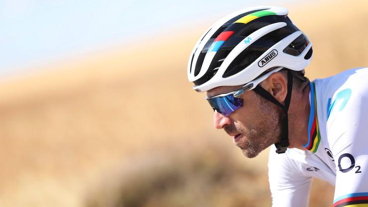 MŚ w kolarstwie: Valverde wycofał się z rywalizacji
