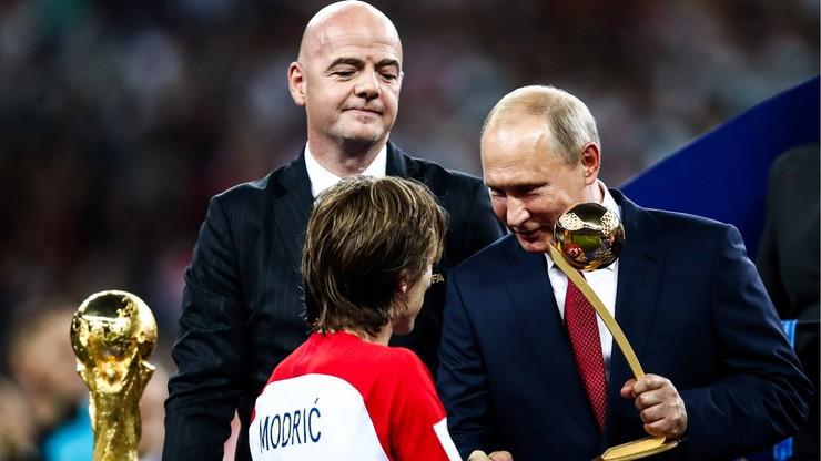 MŚ 2018: Nagrody dla Modricia, Mbappe, Courtoisa