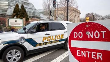 Straż Kapitolu ostrzega przed protestami i zamachami na życie kongresmenów