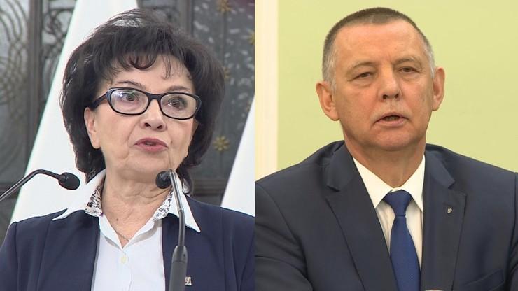 """""""Spotkanie Banasia z Witek tratuję jako teatr polityczny"""""""