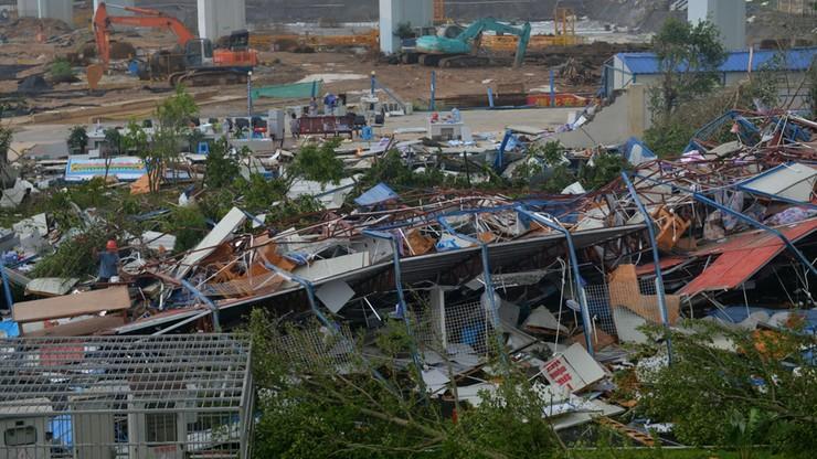 Supertajfun w Chinach. Spowodował poważne zniszczenia