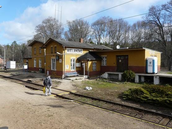 Stacja w Wielanowie, gdzie zaczną zatrzymywać się pociągi PKP Intercity