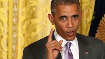 Obama zarzuca Trumpowi brak przygotowania