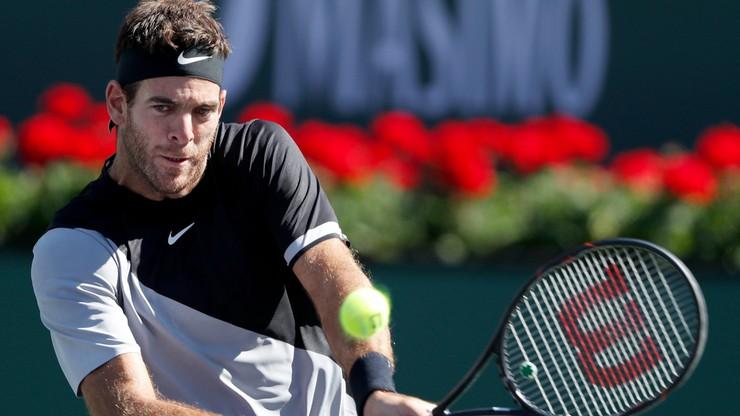 ATP w Indian Wells: Del Potro ostatnim półfinalistą