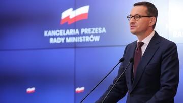 Morawiecki: PO ma wpisane w DNA bylejakość i lenistwo