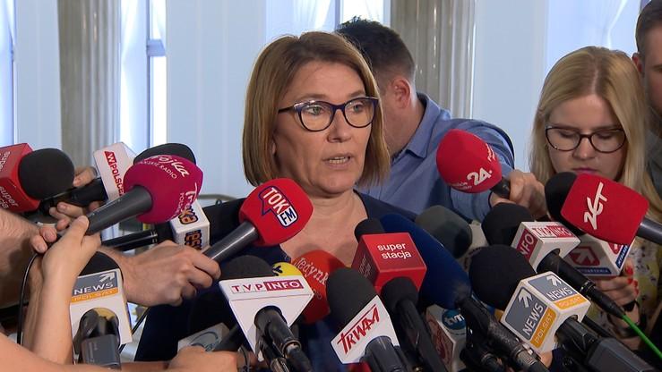 Mazurek: Wałęsy nie można już poważnie traktować. Były prezydent: ktoś panią prosił o komentarz?