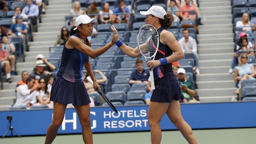 US Open: Triumf Stosur i Zhang w deblu (WIDEO)
