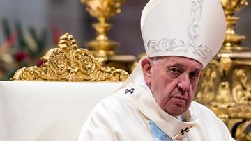 Franciszek przeprosił za incydent z udziałem wiernej