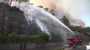 Pożary w Turcji. Ambasada RP apeluje o zachowanie czujności