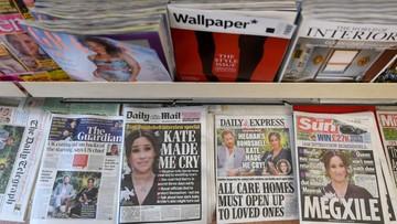 Brytyjskie media: szkody wywołane przez Harry'ego i Meghan trudne do naprawienia