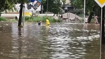 Rzeki na ulicach, woda w urzędzie. Skutki ulewy w Gorzowie Wielkopolskim