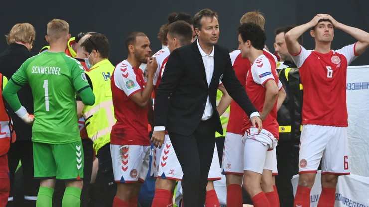 UEFA: Christian Eriksen przetransportowany do szpitala. Jego stan jest stabilny