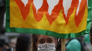 Ponad 131 tys. pożarów lasów w Brazylii. Prezydent nie jedzie na szczyt klimatyczny