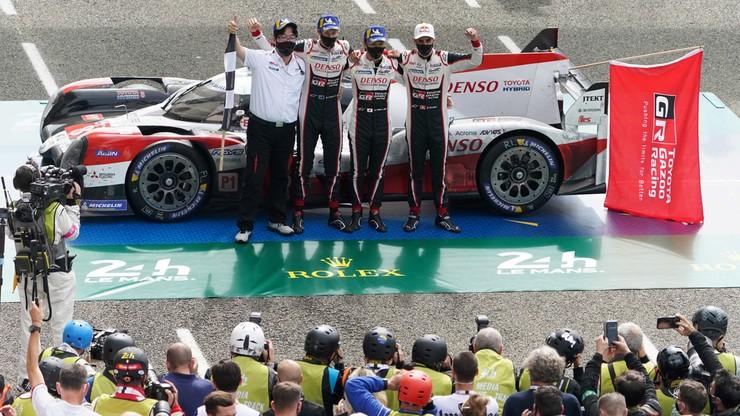 24h Le Mans: Trzecia z rzędu wygrana Toyoty