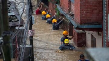 Powodzie nawiedziły Nepal. Ponad 20 osób straciło życie wskutek działania żywiołu