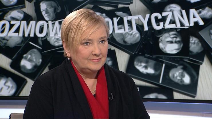 """""""To niepoważne i szkodliwe dla Polski"""". Róża Thun o zamieszaniu wokół Tuska"""