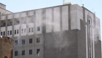 Zamach w Teheranie. Policja zatrzymała pięć osób