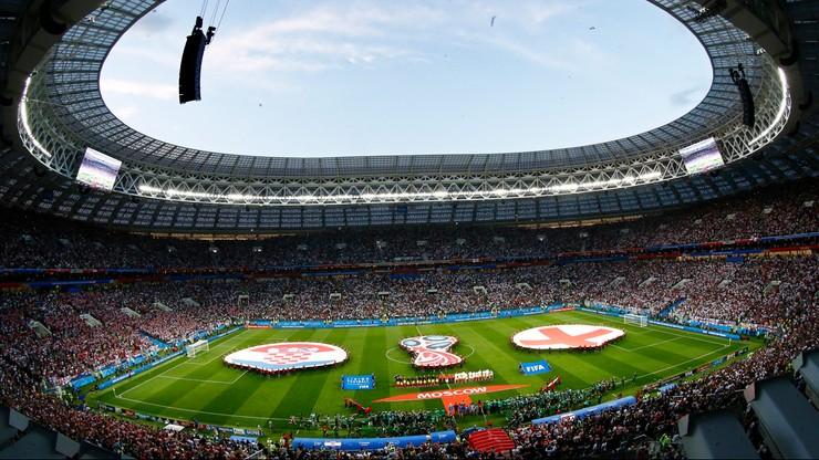 MŚ 2018: Wysoka frekwencja na stadionach w Moskwie