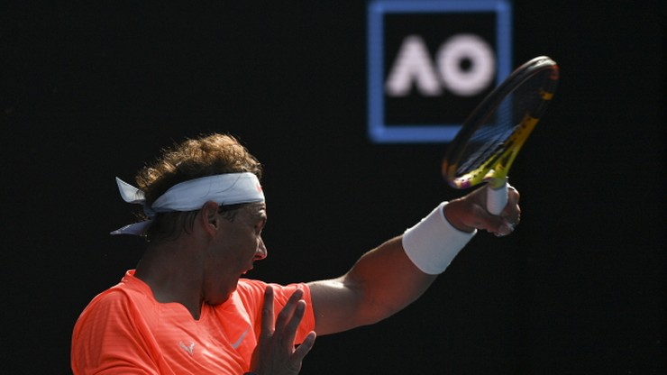 Australian Open: Stefanos Tsitsipas - Rafael Nadal. Relacja i wynik na żywo