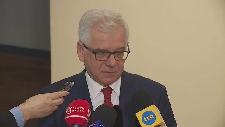 Szef MSZ: sankcje to jest właściwa metoda w sytuacji, kiedy Rosja łamie międzynarodowe prawo