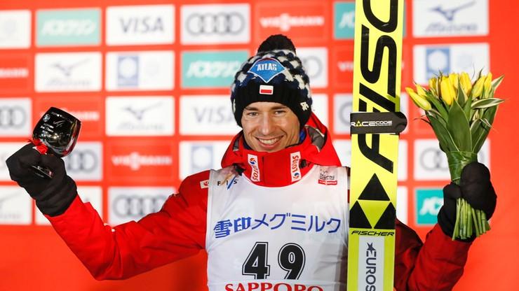 """Kamil Stoch drugi w zawodach w Sapporo. Pobił rekord skoczni. """"Kto nie widział, niech żałuje"""""""