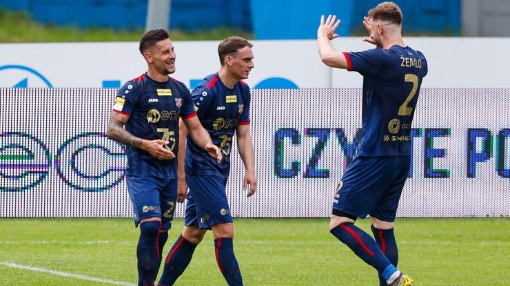 Fortuna 1 Liga: Cenne zwycięstwo Odry Opole. Arkadiusz Piech bohaterem
