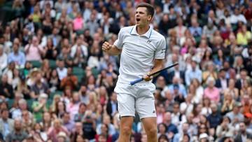 Wimbledon: Ile Hurkacz zarobił za dojście do półfinału?