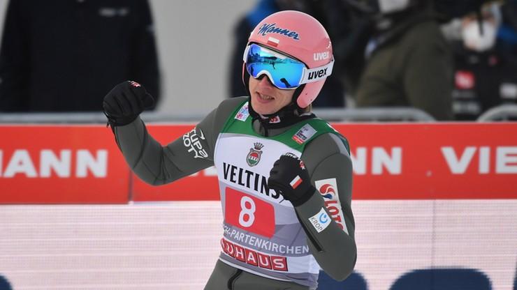 Kubacki wygrał konkurs w Garmisch-Partenkirchen. Polak pobił rekord skoczni