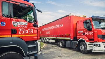 Polscy strażacy jadą do Niemiec. Pomogą uporać się ze skutkami powodzi