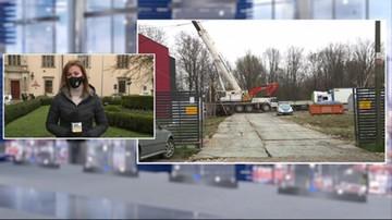 Rozbiórka archiwum miejskiego w Krakowie. Zamrożą ocalałe z pożaru dokumenty