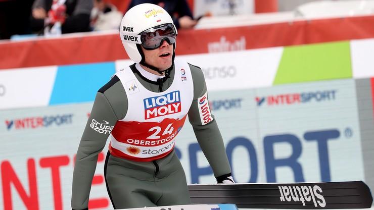 MŚ Oberstdorf 2021: Szczepan Kupczak 11. po skokach do kombinacji