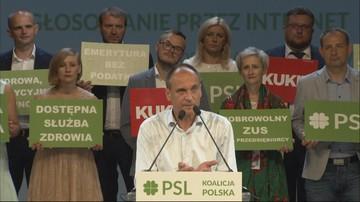 """Ludowcy ogłosili """"jedynki"""" wyborcze. Kukiz: celujemy w dwucyfrowy wynik"""
