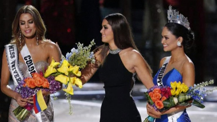 Fatalna pomyłka prowadzącego podczas gali Miss Universe 2015