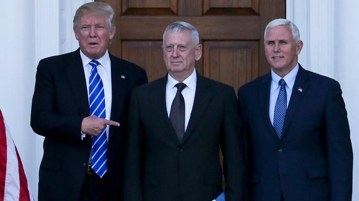 Generał Mattis zostanie nowym szefem Pentagonu. Trump potwierdza