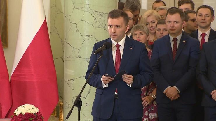 Łukasz Schreiber, minister-członek Rady Ministrów