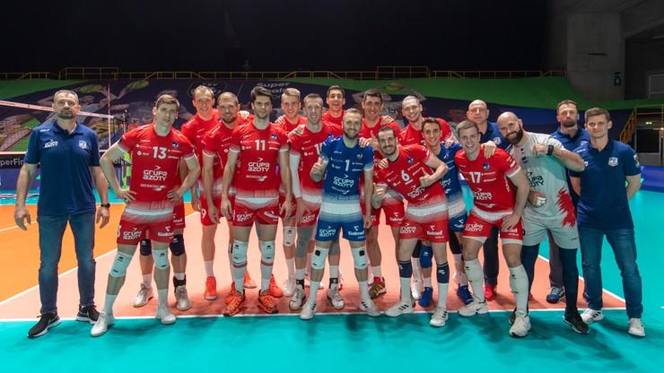 Liga Mistrzów: Grupa Azoty ZAKSA Kędzierzyn-Koźle – Itas Trentino. Skrót meczu (WIDEO)
