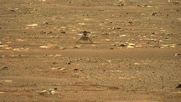 Dron Ingenuity w atmosferze Marsa. To pierwszy taki lot w historii