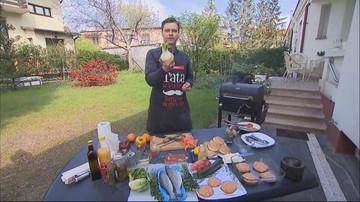 Majówkowe grillowanie: stek, ryba, ziemniaki, wegańskie burgery