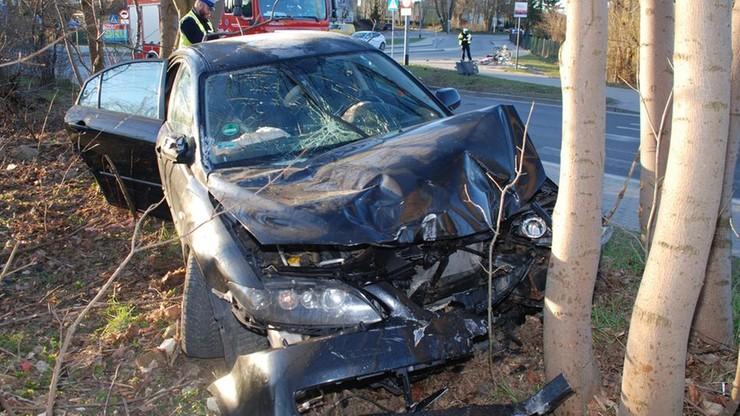 Kierowca wjechał na chodnik i potrącił śmiertelnie 55-latkę. Miał 1,5 promila