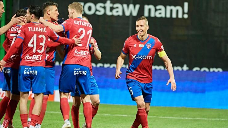 PKO BP Ekstraklasa: Szczwany (Niewu)lis dał zwycięstwo Rakowowi
